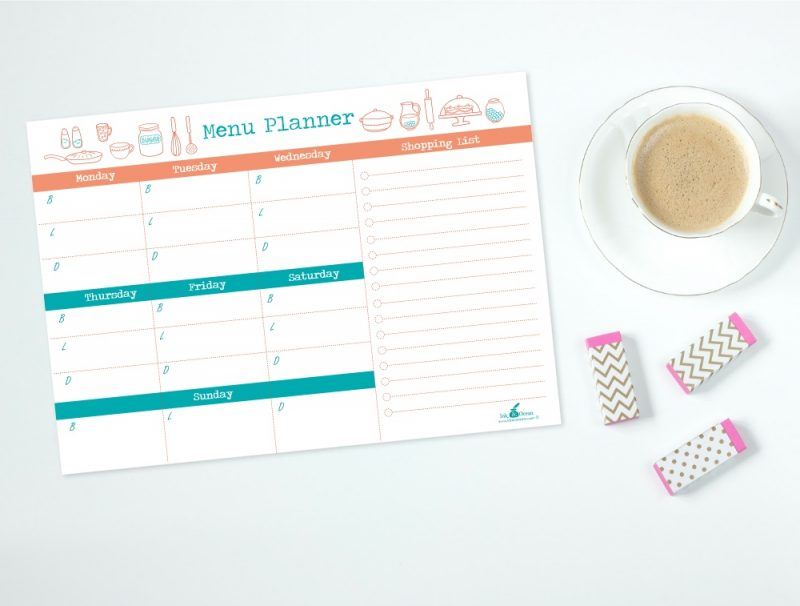 menu planner display