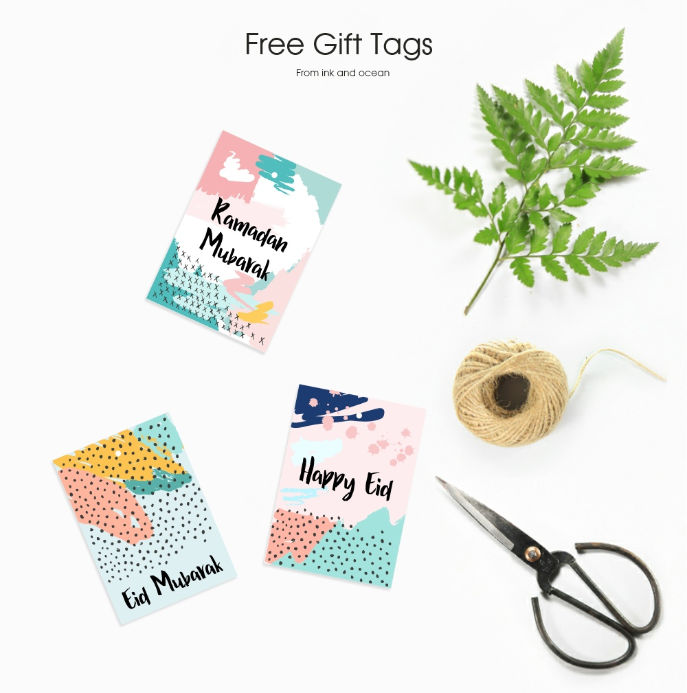 Free Ramadan And Eid Gift Tag To Download Perfect For Adding A Finishing Touch To Your Eid Presents And Ramadhan Presents