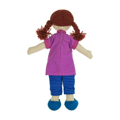 Fair trade muslim islamic kids gift, black doll, muslim doll, multicultural doll, ethnic doll