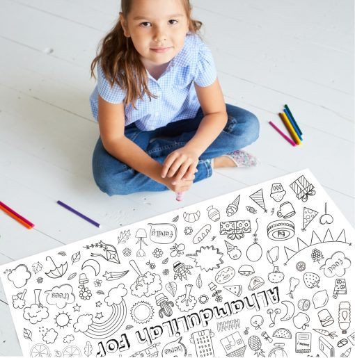 alhamdulilah giant colouring poster