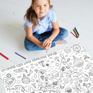 great journeys canvas colouring activity